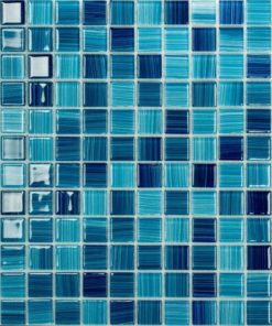Color Strip Glass Mosaic
